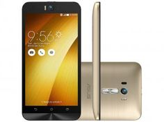 "Smartphone Asus ZenFone Selfie 32GB Dourado - Dual Chip 4G Câm 13MP + Selfie 13MPFlash Tela 5.5"""