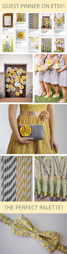 I'm this week's Guest Pinner for Etsy! Check out my favorite yellow and gray picks! http://www.theperfectpalette.com/2013/04/pinning-with-esty.html