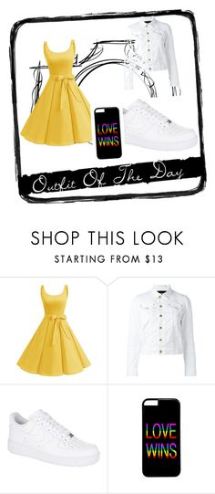 """""""Love wins"""" by outfitmaker-cm on Polyvore featuring Dsquared2, NIKE and Tim Holtz"""