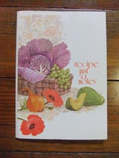 Vintage Recipe Just a Notes Full Set Fold and Seal by Isisgoodsny