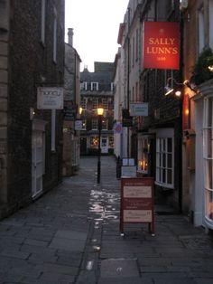 Bath, UK. Sally Lun's Bun is YUM!