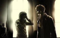 Sherlock comforting John after Mary dies? Regardless, this is beautiful.