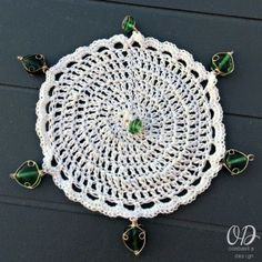 Top View   Wine Glass Cup Cover   Free Pattern