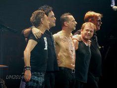 Dave Gahan , Depeche Mode, Martin Gore, Andy Fletcher, Peter Gordeno, Christian Eigner