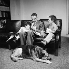 Physicist J. Robert Oppenheimer at Home with Son Peter and Daughter Toni J Robert Oppenheimer, Manhattan Project, Destroyer Of Worlds, Physicist, Us History, Kids Playing, Find Art, Framed Artwork, Sons