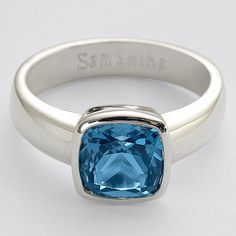 solitaire birthstone ring - I ordered this with a gift card($50!)I got from Nikki Sixx on his radio show, Sixx Sense!!!! I paid the tax and shipping, but I will always remember who I got it from! <3