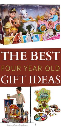 Needing a gift idea for the four year old on your list? Here are the best four year old gift ideas - the toys every 4 year old boy and 4 year old girl will love playing with long after they open them! Includes TONS of great sibling gifts and gender neutral gifts too!   best toys for 4 year old   4 year old gift guide 4 Year Old Girl, Four Year Old, 4 Year Old Toys, Play Doh Fun, Family Presents, Educational Toys For Kids, 4 Year Olds, First Baby, Old Boys
