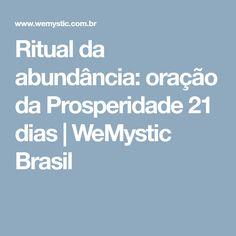 Ritual da abundância: oração da Prosperidade 21 dias | WeMystic Brasil