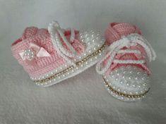 Hermoso Bebé Niña Sandalias de Ganchillo 0-6 meses Rosa Plata Bautizo Regalo