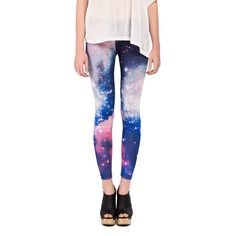 Cosmic Leggings - 2020AVE ($16) ❤ liked on Polyvore