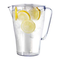 IMPULS Pitcher with lid IKEA Removable insert that withstands freezing; keeps drinks cold longer.