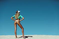 Slip Slop Slap Swimwear Photography Shoot with Faeswim by Leila Joy featuring Phoebe O'Hanlon The Dunes, Bikini Bottoms, Bikinis, Swimwear, Running, Model, Photography, Beauty, Editorial