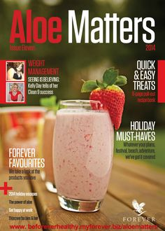 Aloe Matters Magazine, Issue 11. Take a look inside to get your body into shape into 2015 and beyond.