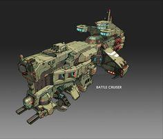 Battle Cruiser by MSTORM