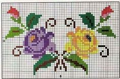 Mini Cross Stitch, Beaded Cross Stitch, Cross Stitch Borders, Cross Stitch Rose, Cross Stitch Flowers, Modern Cross Stitch, Cross Stitch Designs, Cross Stitch Patterns, Diy Embroidery