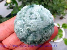 Free Shipping   100 real jade gift Natural Floating by jadeGift, $38.99