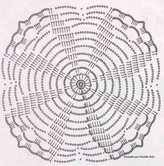 Colcha 13 - Módulos Estrela do mar de Crochê -