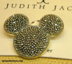 Lovin Some Great Disney Stuff: The Judith Jack Marcasite Mickey Pin