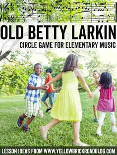 A fun circle game for elementary music. This would be great for getting the students up and moving! The Yellow Brick Road | Music Education Blog