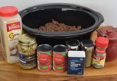 """Linda's Old Fashioned Spaghetti""  Crock-pot style. From Christy's Mother-in-Law //www.southernplate.com"