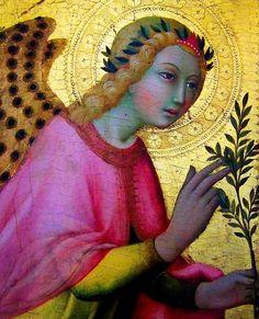 Sano di Pietro, L'Ange de l'Annonciation