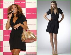 Beyonce este o fana a rochiilor DvF Beyonce, Wrap Dress, Sewing, Formal Dresses, Pattern, Black, Fashion, Dresses For Formal, Moda