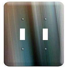 The Brown and Blue Ray of Light 2 Toggle Wallplate are very unique and cannot be found anywhere else. These USA made metal wall plates are highly detailed and made with some of the newest UV imaging technology available resulting in photograph quality prints on durable metal switchplates.