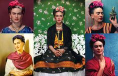 Frida Kahlo (1907-1954), the most celebrated female artist in history.
