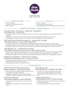 dislike the circle name at the top i do like the dotted lines and - Advertising Internship Sample Resume