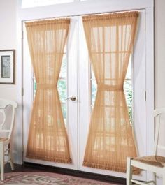 French Door Curtains: 7 Most Stylish - Hometone
