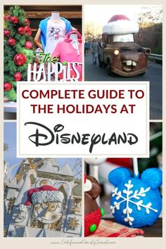 This complete guide to Disneyland Christmas 2021 will help you plan your trip and includes all the details, tips and secrets for making the most of your visit to Disneyland and Disney California Adventure during the holidays! #disneyland #christmas