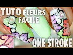 One stroke flower petal tutorial (in French, but good visuals & easy to understand without sound) One Stroke, Diane Keaton Hairstyles, Nail Art Fleur, Youtube Nail Art, Best Hair Dye, Hair Mask For Damaged Hair, Nails First, Trendy Nail Art, Super Nails