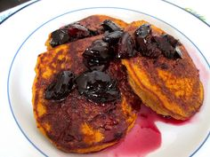 Fall-Spiced Pumpkin Protein Pancakes with a health food twist