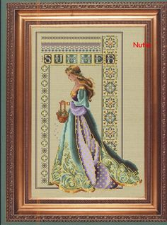 Celtic Spring Mirabilia Cross Stitch Pattern (Scroll Down on Page)