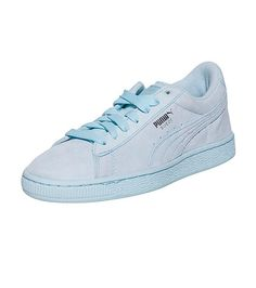 PUMA Low top kids sneaker Lace up closure Suede throughout PUMA logo on  sides Cushioned inner 57c0b455b