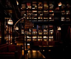 Best Hotel Libraries - The Nomad Hotel, New York City - ELLE DECOR