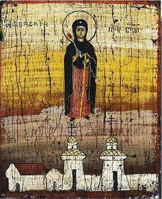 Икона Богородицы Вратарница