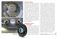 QP Middle East Magazine about the Hublot Watch Capsule ! Hublot Watches, Noise Cancelling, Display Case, Middle East, Magazine, Glass Display Case, Display Window, Magazines, Warehouse