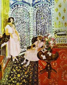Henri Matisse (1869-1954). Moorish Screen. 1917-21.