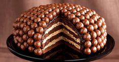 "Ten sam krem z ""Raffaello"" Croatian Recipes, Cool Birthday Cakes, Dessert Recipes, Cookies, Chocolate, Vegetables, Sweet, Food, Aga"