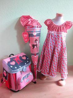 ELODIE Schnittmuster Kleid Mädchen Einschulung farbenmix