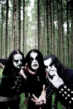 Immortal  Norwegian Black Metal.