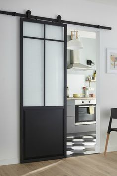 25 Modern Sliding Door You Might Want To Try 8 - homegrowmart Living Room With Fireplace, Living Room Decor, Modern Sliding Doors, Clean Bedroom, Traditional Doors, Japanese Interior, New Homes, House Design, Interior Design