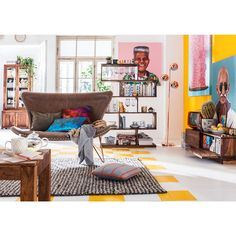 Miami Brown 2-Seater Sofa