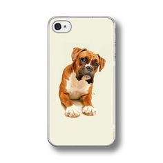 Boxer Dog Hard Phone Case Cover Fits Iphone Models.