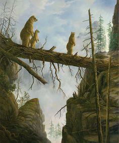 Картины недели: медвежье царство Роберта Биссела | Толкователь