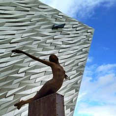 Titanic Exhibition Centre, Belfast, Ireland, by CivicArts / Eric R Kuhne Associates. Titanic Exhibition, Places To Travel, Places To Visit, Belfast Ireland, Lest We Forget, Ireland Travel, British Isles, Northern Ireland, Vacation Destinations