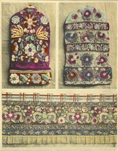 Tartar embroidery designs.