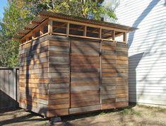 Modern shed design Diy Storage Shed Plans, Backyard Storage Sheds, Wood Storage Sheds, Wooden Sheds, Easy Storage, Extra Storage, Small Storage, Outdoor Storage, Backyard Sheds