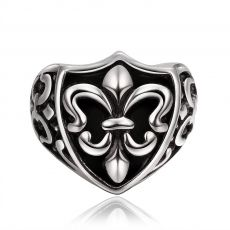 R025-8 Stylish Wholesale Various Styles 316L Stainless Steel Punk Ring